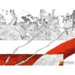 Модульная картина, абстракция ART.: KAM1008