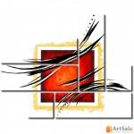 Модульная картина, абстракция ART.: KAM1092