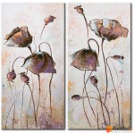 Модульная картина цветы маки, ART.: KCC0008