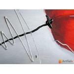 Модульная картина красные маки, ART.: KCC0034