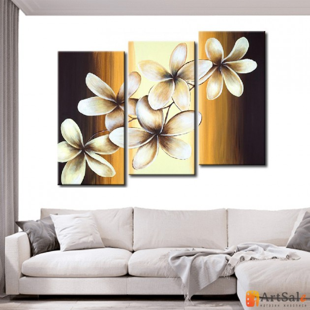 Модульная картина цветы, ART.: KCC0073