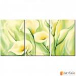 Модульная картина лилии, ART.: KCC0110