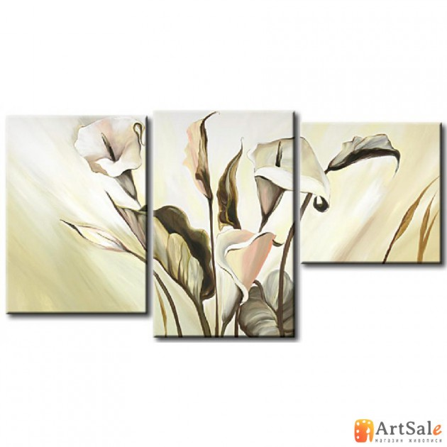 Модульная картина цветы, ART.: KCC0121