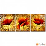 Модульная картина цветы, ART.: KCC0158