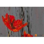 Модульная картина цветы, ART.: KCC0163