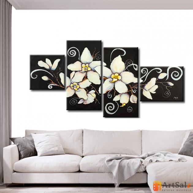 Модульная картина цветы, ART.: KCC0190