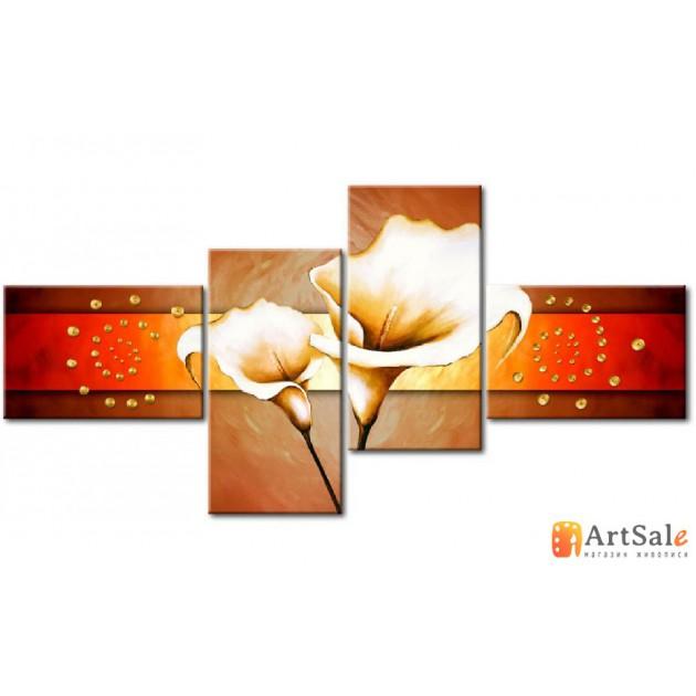 Модульная картина цветы, ART.: KCC0192