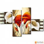 Модульная картина цветы, ART.: KCC0242