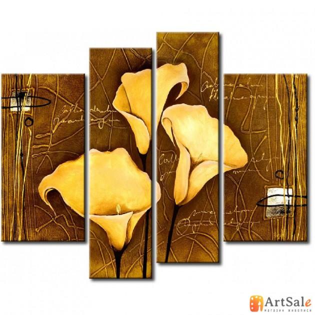 Модульная картина цветы, ART.: KCC0267