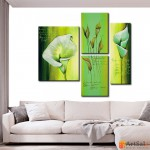 Модульная картина цветы, ART.: KCC0271