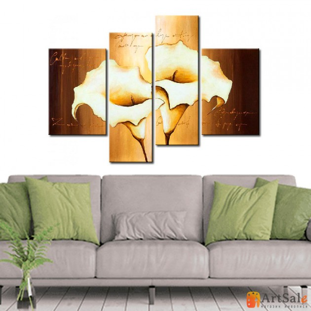 Модульная картина цветы, ART.: KCC0293