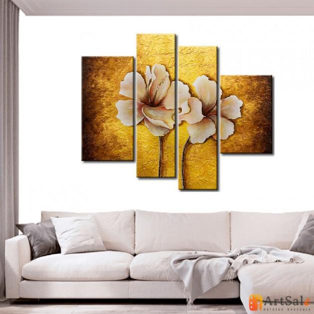Модульная картина цветы, ART.: KCC0312