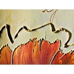 Модульная картина маки, ART.: KCC0318