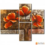 Модульная картина цветы, ART.: KCC0340
