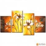 Модульная картина цветы, ART.: KCC0345