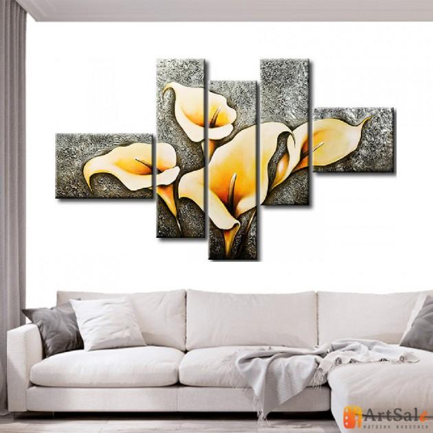 Модульная картина цветы, ART.: KCC0347