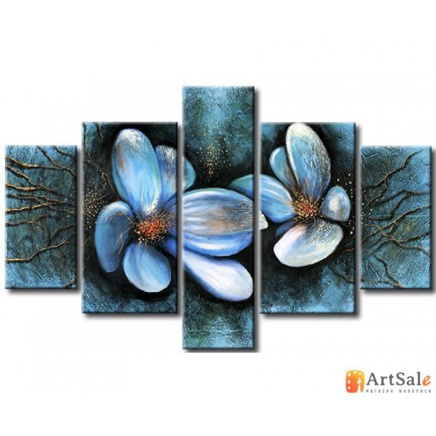 Модульная картина цветы, ART.: KCC0377
