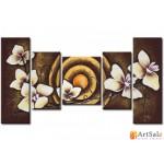 Модульная картина орхидея, ART.: KCC0389