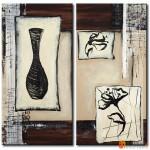 Интерьерные модульные картины, Ваза ART.: KIM0628
