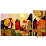 Интерьерные модульные картины, Домики ART.: KIM0661