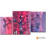 Интерьерные модульные картины, Дерево ART.: KIM0016