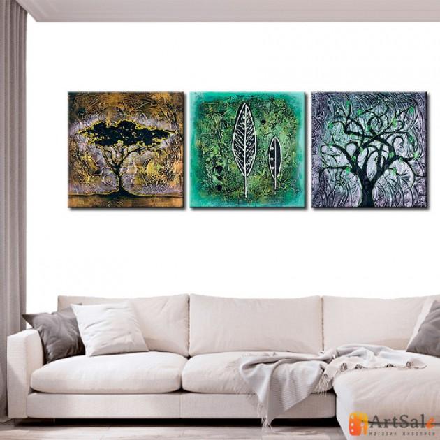 Интерьерные модульные картины, Деревья ART.: KIM0020