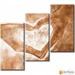 Интерьерные модульные картины, Руки Сердце ART.: KIM0066