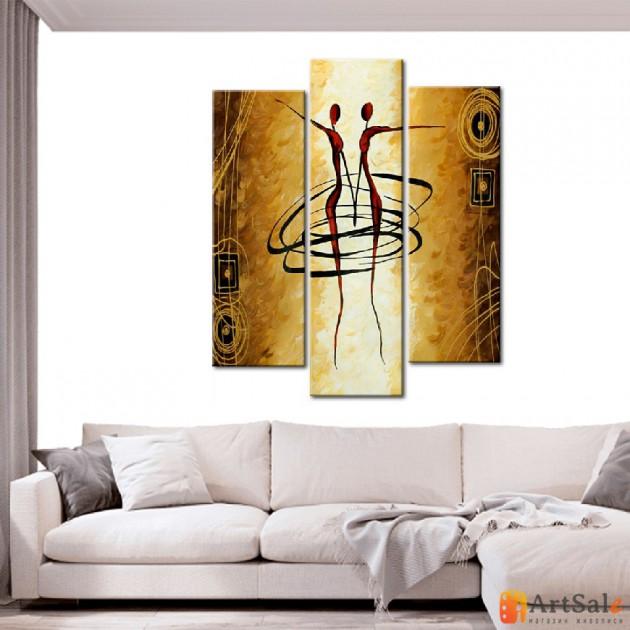 Интерьерные модульные картины ART.: KIM0114