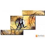 Интерьерные модульные картины ART.: KIM0131