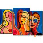 Интерьерные модульные картины ART.: KIM0164