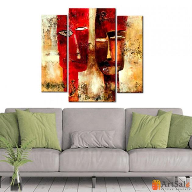 Интерьерные модульные картины, Маски ART.: KIM0168