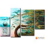 Интерьерные модульные картины ART.: KIM0333