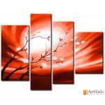 Интерьерные модульные картины ART.: KIM0350