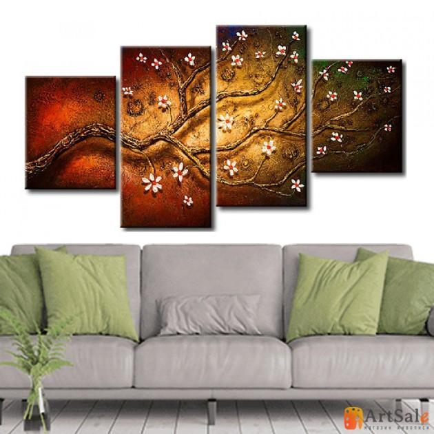 Интерьерные модульные картины ART.: KIM0354