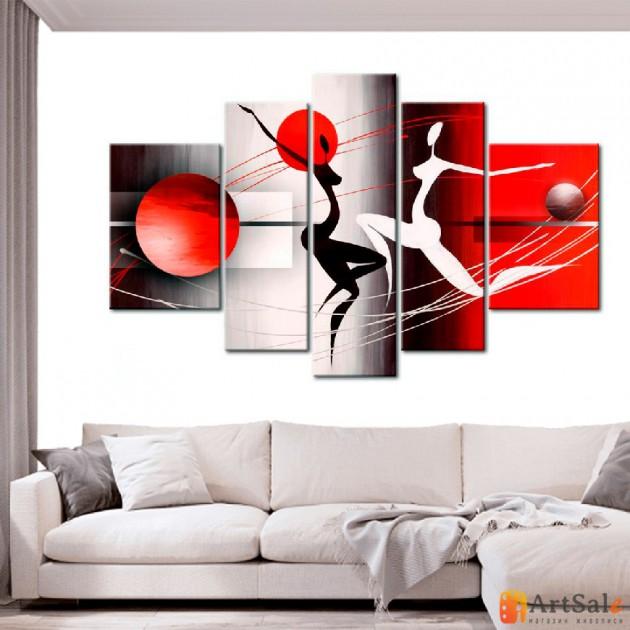 Интерьерные модульные картины ART.: KIM0401