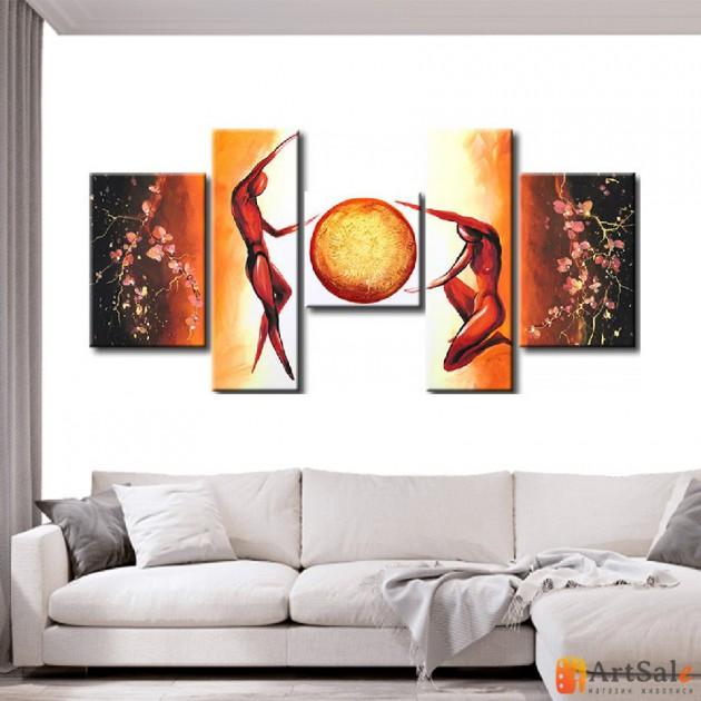 Интерьерные модульные картины ART.: KIM0536