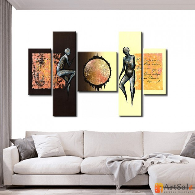 Интерьерные модульные картины ART.: KIM0539