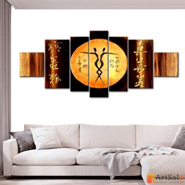 Интерьерные модульные картины ART.: KIM0591