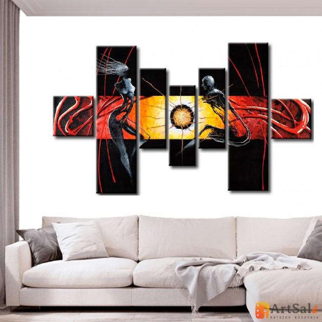 Интерьерные модульные картины ART.: KIM0601