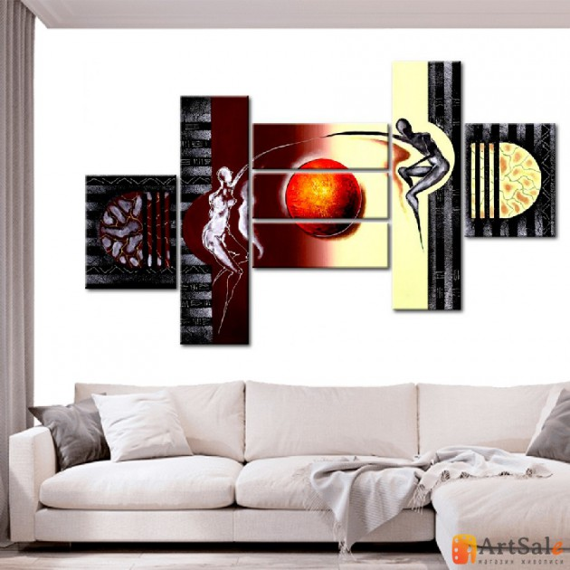 Интерьерные модульные картины ART.: KIM0616