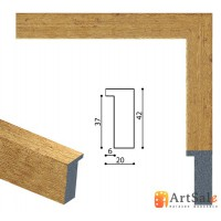 Рамки для картин, багет пластиковый ART.: BP641