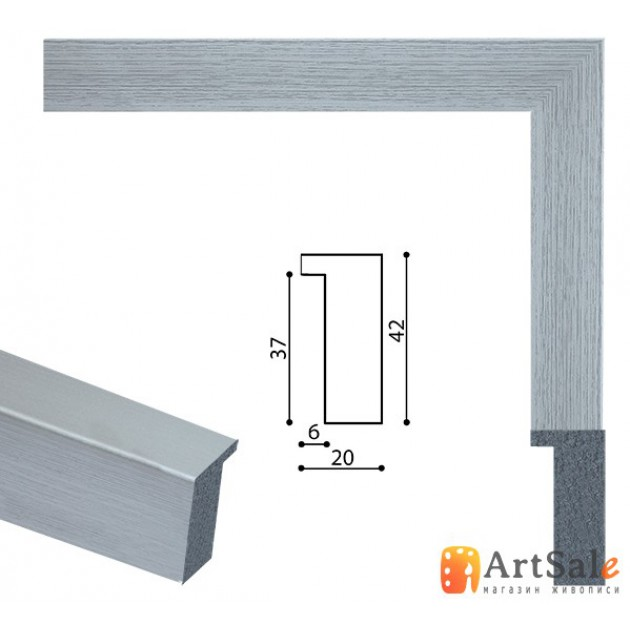 Рамки для картин, багет пластиковый ART.: BP645