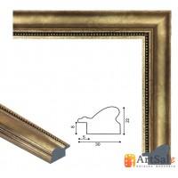Рамки для картин, багет пластиковый ART.: bp647