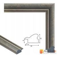 Рамки для картин, багет пластиковый ART.: bp649