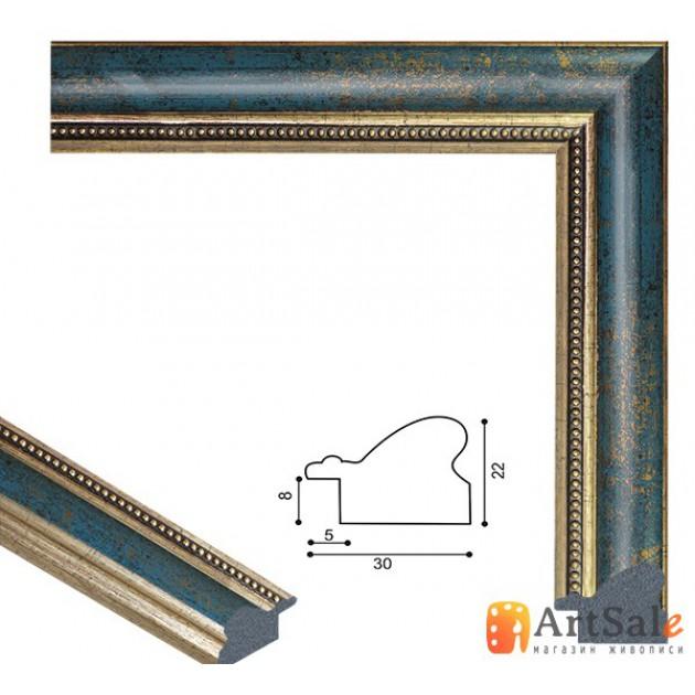 Рамки для картин, багет пластиковый ART.: bp651