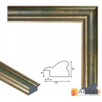 Рамки для картин, багет пластиковый ART.: bp653