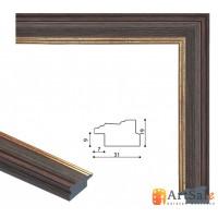 Рамки для картин, багет пластиковый ART.: bp654