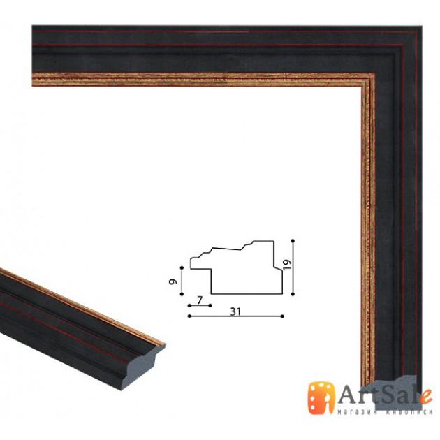 Рамки для картин, багет пластиковый ART.: bp657