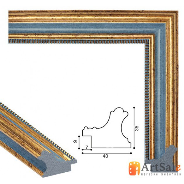 Рамки для картин, багет пластиковый ART.: bp706