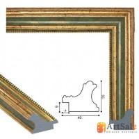 Рамки для картин, багет пластиковый ART.: bp707